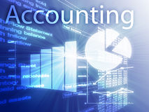 Accounting illustration Stock Photos