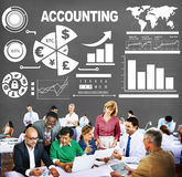 Accounting Investment Expenditures Revenue Data Report Concept Royalty Free Stock Images