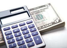 Accounting in the money Royalty Free Stock Photography