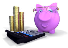 Accounting officer concept Stock Image