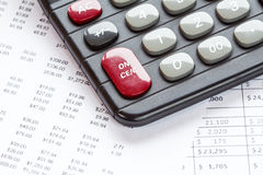 Accounting in process Royalty Free Stock Image