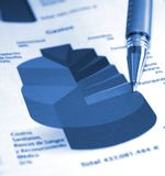 Accounting report Royalty Free Stock Photography