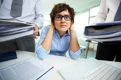 Accounting reports period Royalty Free Stock Image