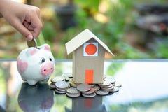 Accounting for saving money royalty free stock photos