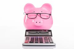 Accounting and savings concept Royalty Free Stock Photography
