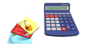 Accounting security Stock Photos