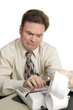 Accounting Series - Bad News Stock Photography