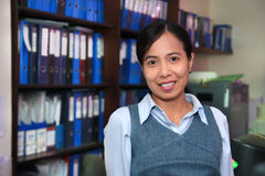 Accounting staff Royalty Free Stock Image