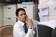 Accounting staff Stock Images