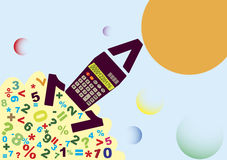 Accounting start. Abstract accounting start.Vector illustration Stock Image