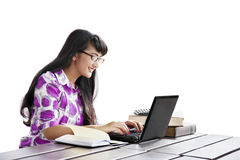 Accounting student Royalty Free Stock Photos