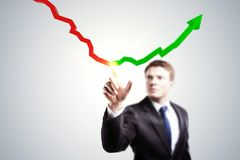 Accounting and success concept Stock Photo