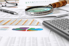 Accounting Table Stock Photos