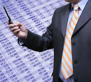 Accounting and technology Royalty Free Stock Photo