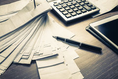 Accounting Work Royalty Free Stock Images