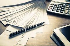 Accounting Work Stock Photos
