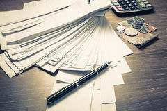Accounting Work Stock Images