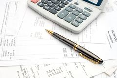 Accounts Stock Photo