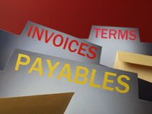 Accounts payable Royalty Free Stock Photography