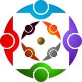 Accouple le logo Images libres de droits