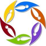 Accouple le logo Photo libre de droits