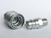 Accouplement hydraulique images libres de droits