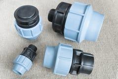 Accouplements et garnitures de compression photo stock