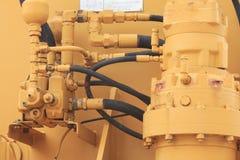 Accouplements hydrauliques - image courante photos libres de droits