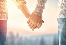 Accouplez le jour de valentines Photo libre de droits