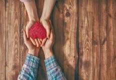 Accouplez le jour de valentines Photos stock