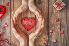 Accouplez le jour de valentines Photographie stock