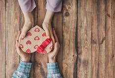 Accouplez le jour de valentines Photo stock