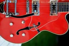 accoustic gitarr Royaltyfri Fotografi