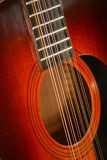 Accoustic Guitar 12 strings Stock Image