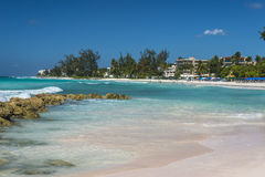 Accra Beach Barbados West indies royalty free stock image