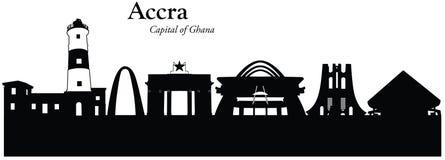 Accra, Gana ilustração royalty free