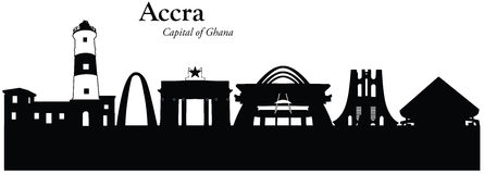 Accra, Ghana Fotografia Stock