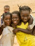 Happy african children Royalty Free Stock Photos