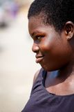 ACCRA, GHANA � MARCH 18: Unidentified African girl  pose with sm Royalty Free Stock Images