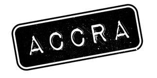 Accra rubber stämpel Royaltyfria Foton