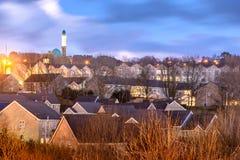 Accrington stad Lancashire UK arkivfoto