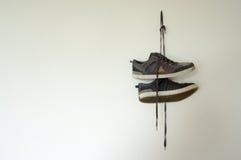Accrocher de chaussures Image stock