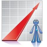 Accroissement d'économie Photographie stock