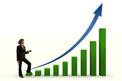 Accroissement d'affaires Image stock