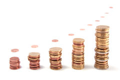 Accroissement d'investissement Image stock