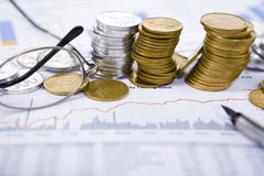 Accroissement d'investissement Photographie stock