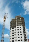 Accroissement de ville - travaux de construction Image stock