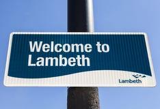 Accueil à Lambeth Photos libres de droits