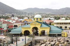Accueil à St Kitts photo stock