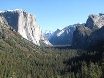 Accueil à Yosemite Photographie stock